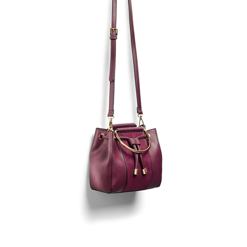 Handbag  bata, rosso, 961-5448 - 17