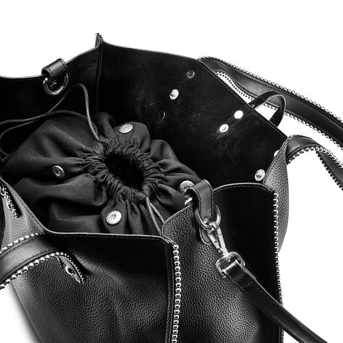 Handbag  bata, nero, 961-6242 - 15