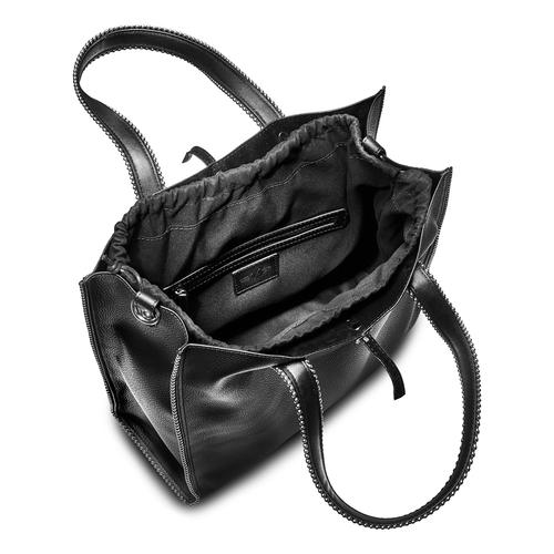 Handbag  bata, nero, 961-6242 - 16