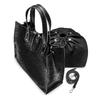 Handbag  bata, nero, 961-6242 - 17