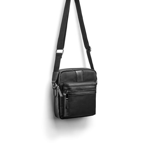 Handbag  bata, nero, 969-6227 - 17