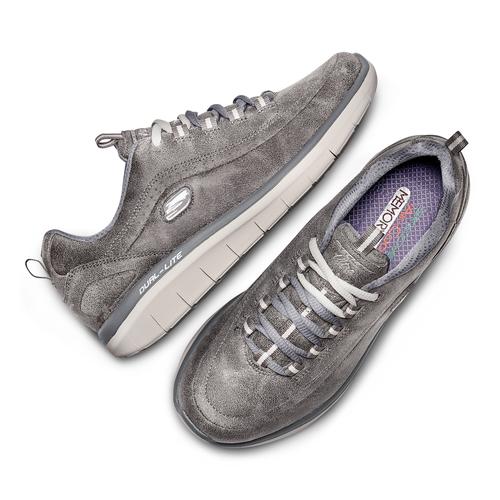 Sport shoe  skechers, grigio, 501-2103 - 26